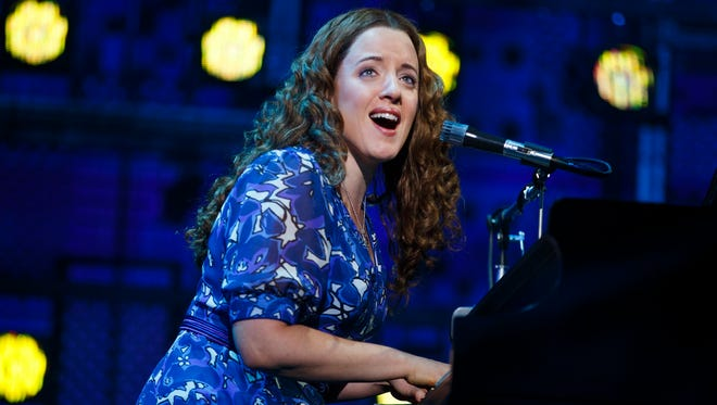 """Abby Mueller as Carole King in """"Beautiful"""" on tour."""