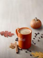 McDonalds McCafe Pumpkin Spiced Lattes should be available