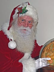 Larry Shaw, 65, Indianapolis, has been playing Santa Claus for 36 years.