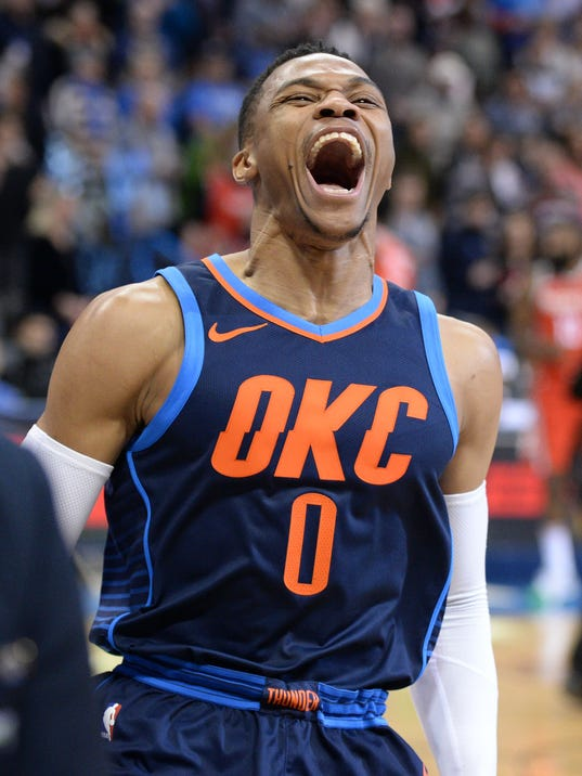 NBA: Houston Rockets at Oklahoma City Thunder