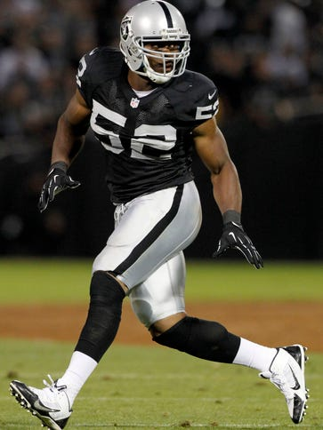 Raiders OLB Khalil Mack is one of the league's rising