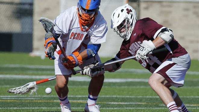 Penn Yan defeated Aquinas to win the Section V Class D boys' lacrosse championship.