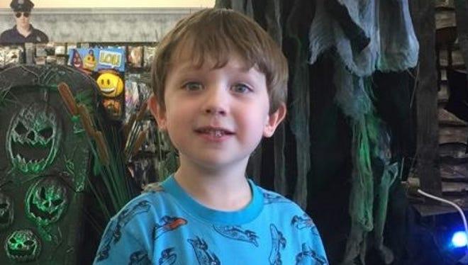 Xander Cruz Benoit, 5, lost his life last week in a five-car collision near Baton Rouge.