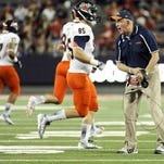 UTSA coach Larry Coker is coming off a 4-8 season and will face the toughest schedule in the conference this season.