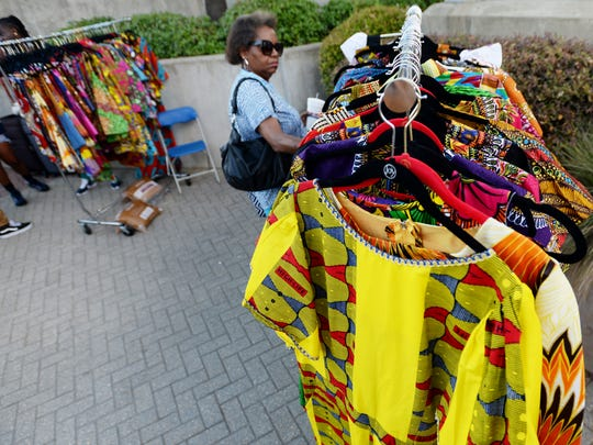 Shop for jewelry, fashion, art, and crafts at the Let the Good Times Roll festival, scheduled for June 21-23 at Festival Plaza in downtown Shreveport.