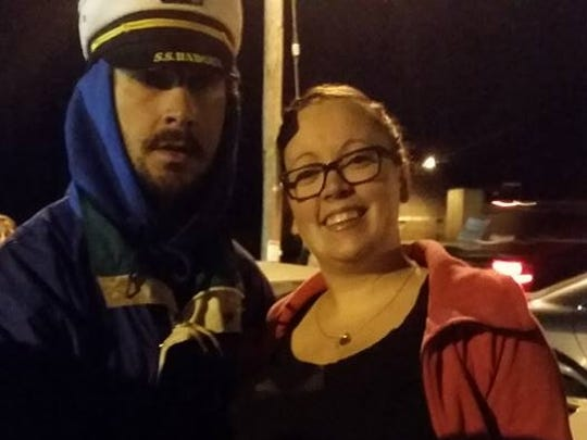 Actor Shia LaBeouf rode the S.S. Badger car ferry to Manitowoc on Sunday.