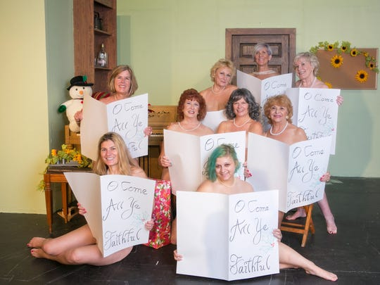 "The cast of ""Calendar Girls"""