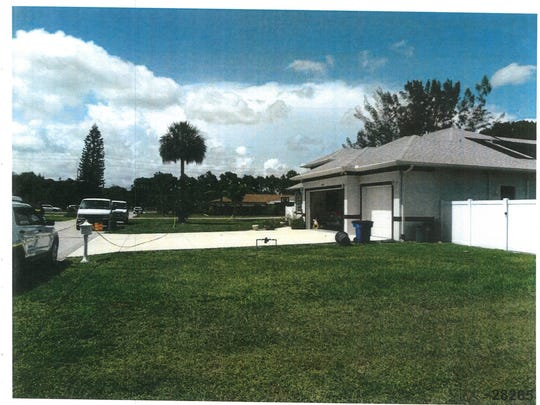 Photo of the home of Mark and Dr. Teresa Sievers released by the State Attorney's Office in the murder case of Dr. Teresa Sievers.