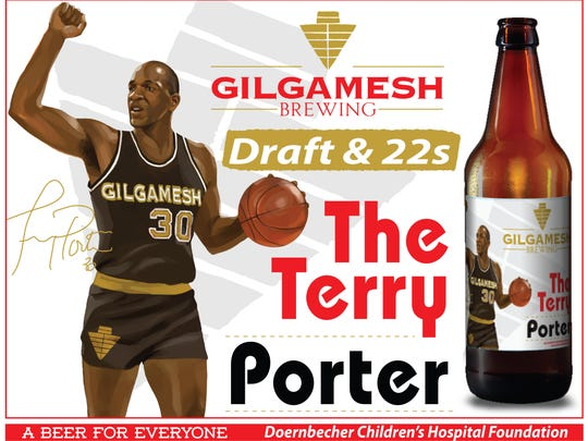The label of The Terry Porter.