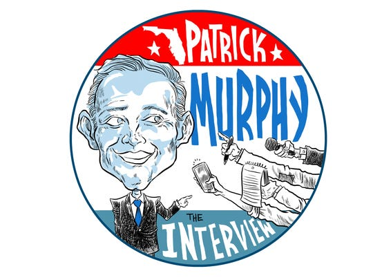 Patrick Murphy will be interviewed by a joint USA TODAY