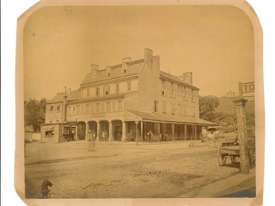 The Parson's Hotel, which lasted from 1764 to 1883.