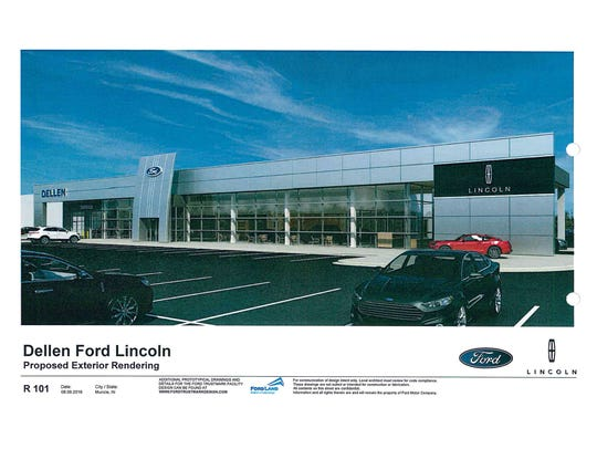 Dellen Ford will build at the intersection of Nebo