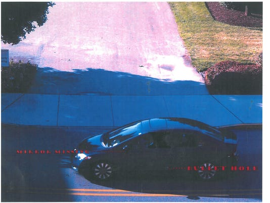Car involved in shooting