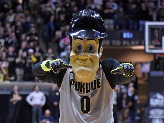Purdue Boilermaker mascot Pete