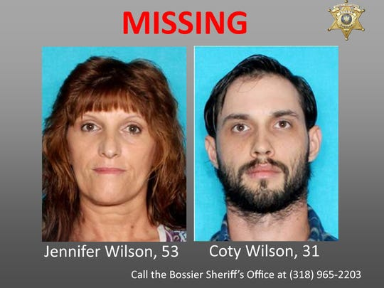 Police are looking for Jennifer Wilson and her son,