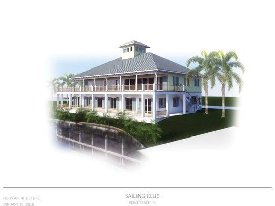 Rendition of the proposed community sailing center