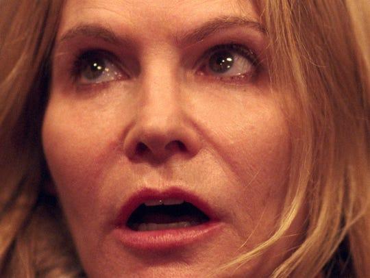"Jennifer Jason Leigh stars in ""Good Time."""