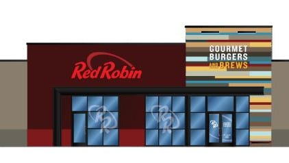 A rendering of the future Red Robin at The Empire Mall.