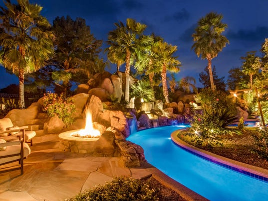 A 15000 Square Foot Mansion With 3000 Bottle Wine Cellar And 150000 Gallon Lazy River In The Heart Of Paradise Valley Can Be Yours For Cool 18