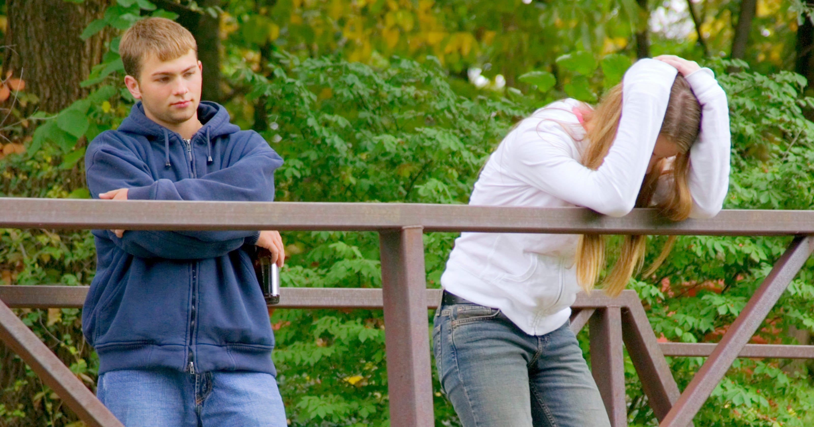 Woman blindsided by breakup is already on the way to healing