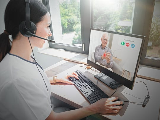 Telehealth appointments have become common amid the coronavirus pandemic.