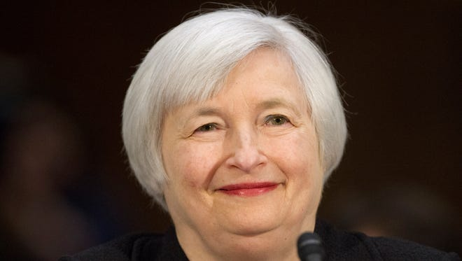 Janet Yellen will succeed Ben Bernanke as chair of the Federal Reserve on Feb. 1.