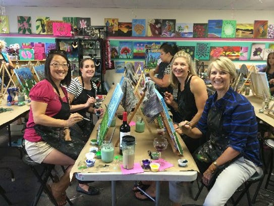 Jennifer Trefelner and friends ventured to Quench Your