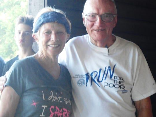 Race founder and St Vincent de Paul volunteer Marv