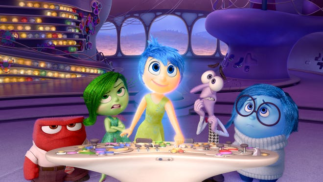 """Disney-Pixar's """"Inside Out"""" takes us to the most extraordinary location yet - inside the mind of Riley."""