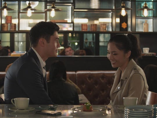 "Henry Golding and Constance Wu go for laughs in ""Crazy"