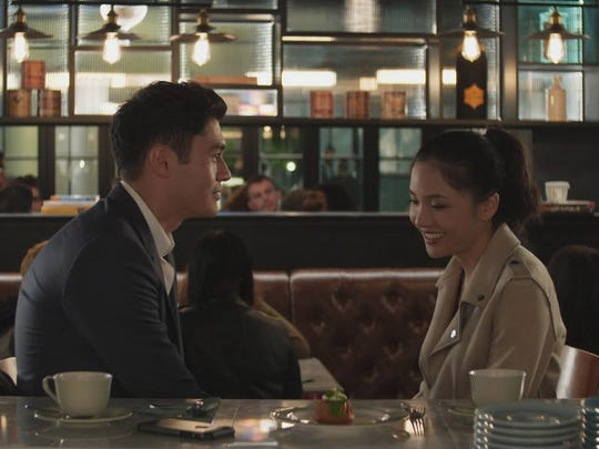 """Henry Golding and Constance Wu go for laughs in """"Crazy Rich Asians."""""""