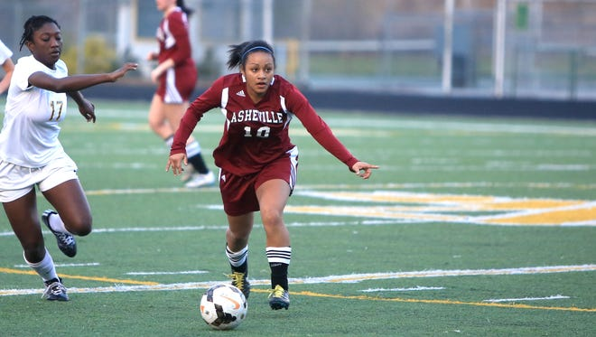 Asheville High is No. 8 in this week's 3-A state soccer rankings.