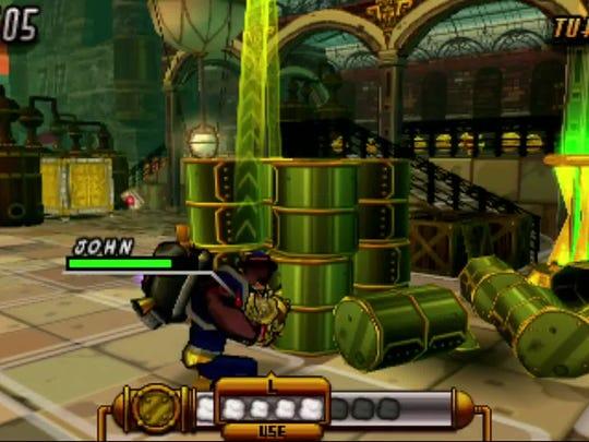 """Code Name: S.T.E.A.M."" is a strategy game for the Nintendo 3DS."
