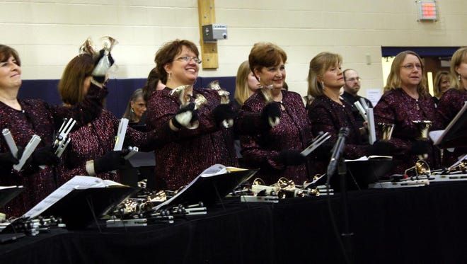 Members of Classical Bells perform during the 2014 BronzeFest.