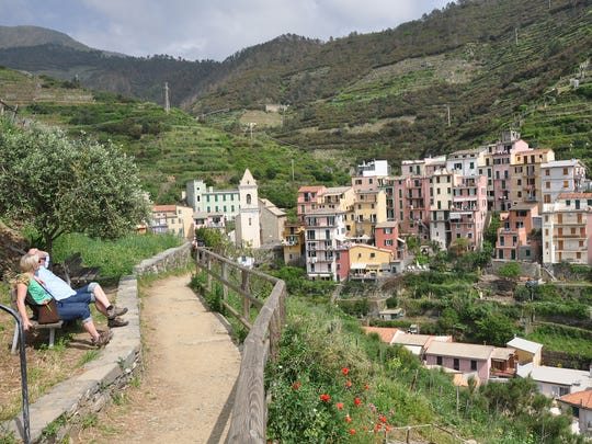 Hiking is a relaxing way to experience the Cinque Terre.