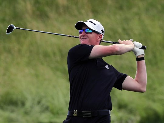 Mequon's Jordan Niebrugge shot a 1-under par 71 Sunday in the final round of the U.S. Open at Erin Hills.