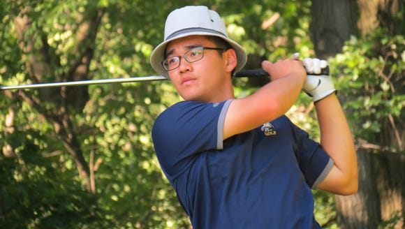 NV/Old Tappan's Ryan Lee competes in the USGA Junior