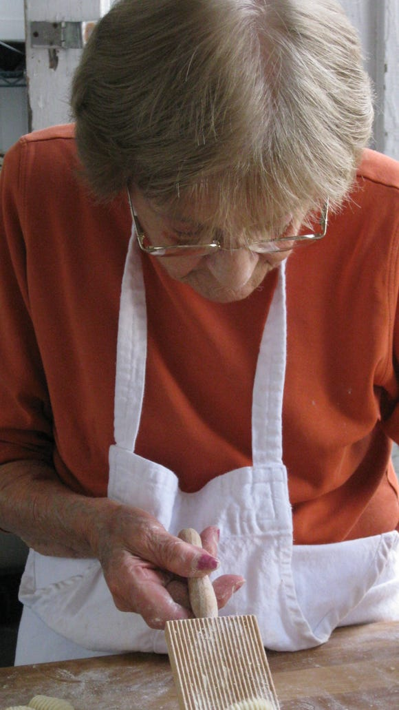 Celeste Brinkman was still rolling her own cavatelli at the age of 91.