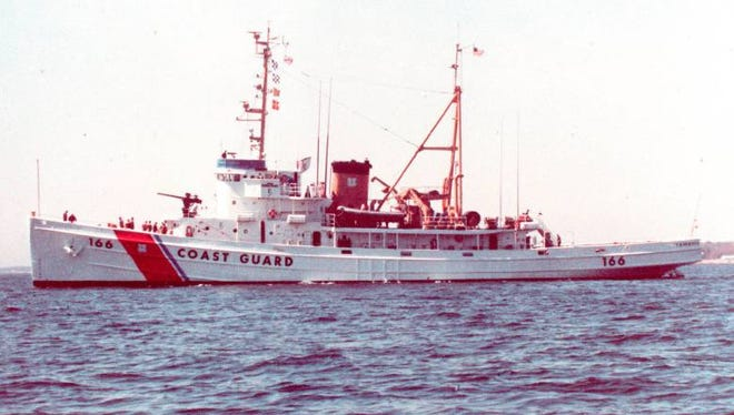 The Coast Guard's Tamaroa, known as the USS Zuni in World War II, will be sunk off Cape May as part of an artificial reef.