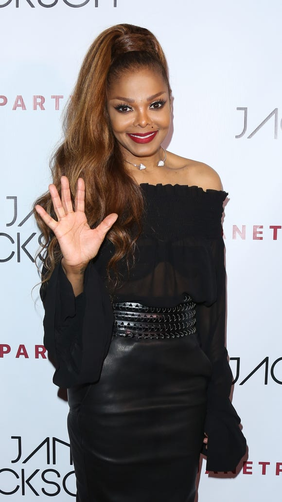 Janet Jackson, here at an after party for her L.A.