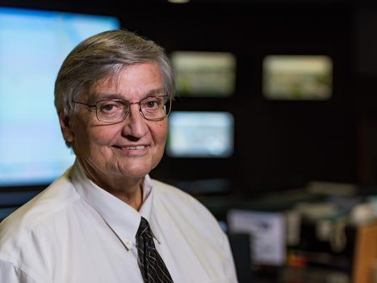 Gene Donaldson, TMC Operations Manager for DelDOT,