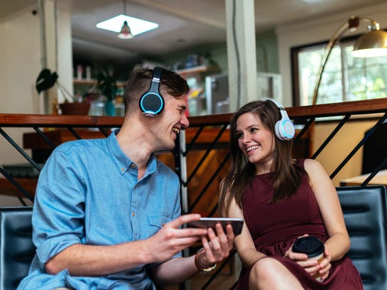 Arc headphones by Wearhaus are made for two people