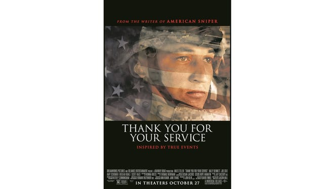 Advance screening to Thank You For Your Service on Tuesday, Oct. 24th. Enter to win free passes.