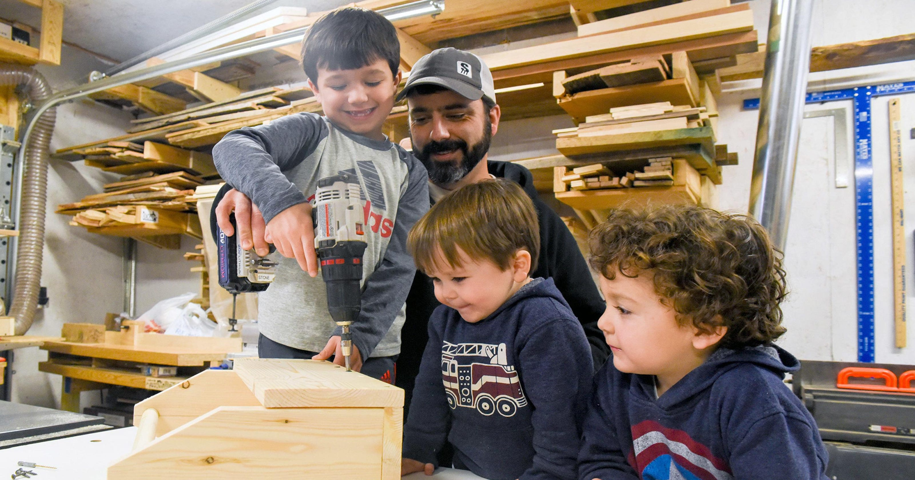 new hope man teaches woodworking skills, life lessons