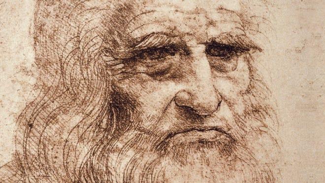 A self-portrait of Leonardo, the original Renaissance man, who lived from 1452 to 1519.