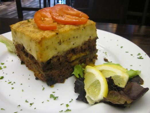 Moussaka at Jim's Place in East Memphis