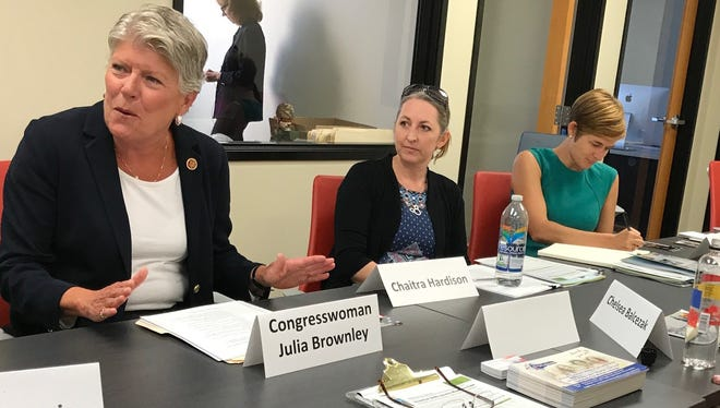 Rep. Julia Brownley, D-Westlake Village, helped get two federal grants to help underserved students in Ventura County prepare for college.