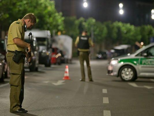 EPA GERMANY EXPLOSION CLJ CRIME DEU BA
