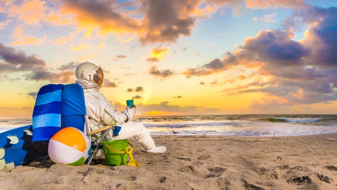Starman at various Space Coast locales will be featured this summer in Space Coast Office of Tourism marketing campaigns.