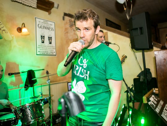 Whiskey Tango was a hit at Rula Bula's St. Patrick's